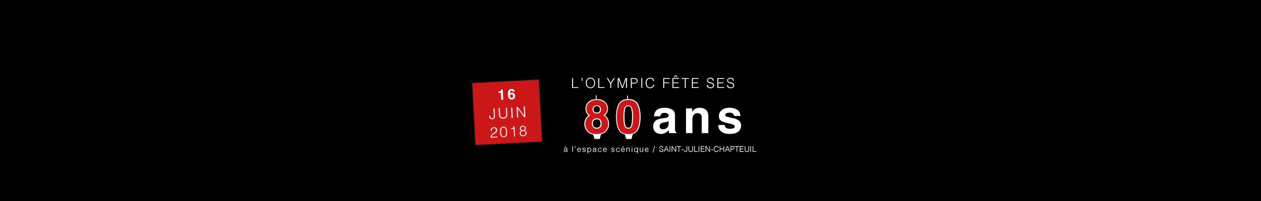 80ans de l'Olympic
